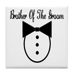 Brother of the Groom Tile Coaster