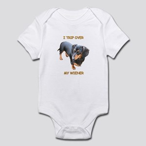 I Trip Wiener Infant Bodysuit