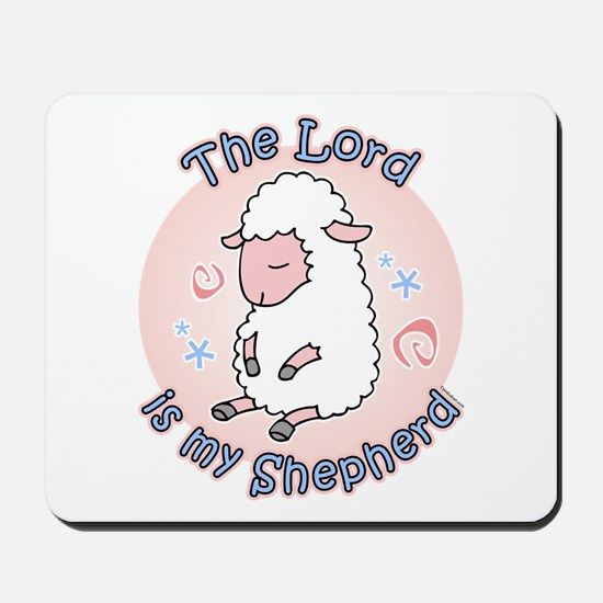 Lord Is My Shepherd Mousepad