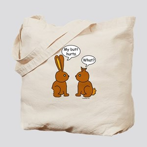 Funny Chocolate Bunnies Tote Bag