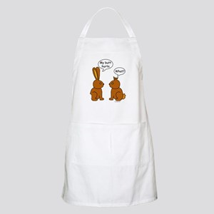 Funny Chocolate Bunnies BBQ Apron