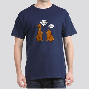 Funny Chocolate Bunnies Dark T-Shirt