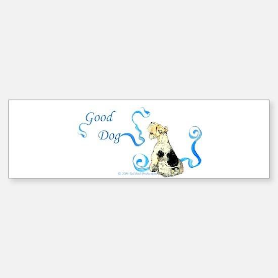 Good Dog - Fox Terrier Sticker (Bumper)
