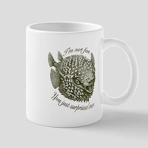 Not Fat/Surprised - Mug