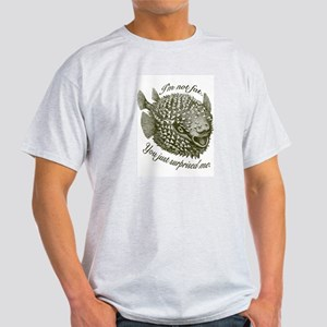 Not Fat/Surprised - Light T-Shirt