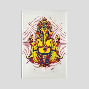 Power of Ganesh Rectangle Magnet