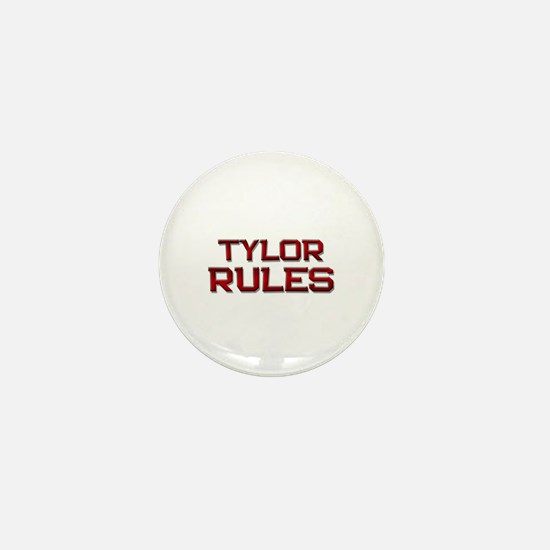 tylor rules Mini Button