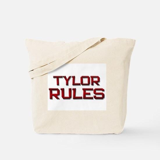 tylor rules Tote Bag