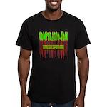 VomitRadio Men's Fitted T-Shirt (dark)