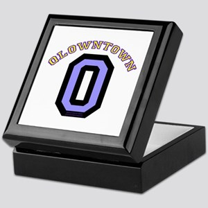 QlownTown team player Keepsake Box