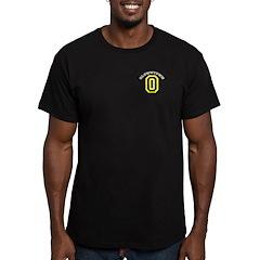 QlownTown team player Men's Fitted T-Shirt (dark)
