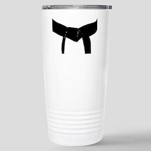 Martial Arts Black Belt Stainless Steel Travel Mug