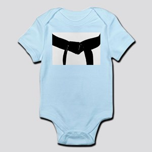 Martial Arts Black Belt Infant Bodysuit