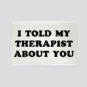 I Therapist Rectangle Magnet