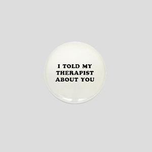I Therapist Mini Button