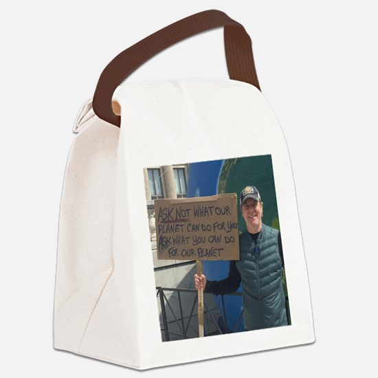 Funny Ask not what your country can do for you Canvas Lunch Bag