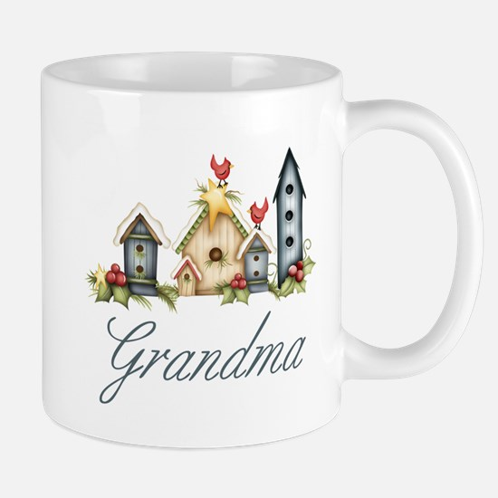 Birdhouses Grandma Mug
