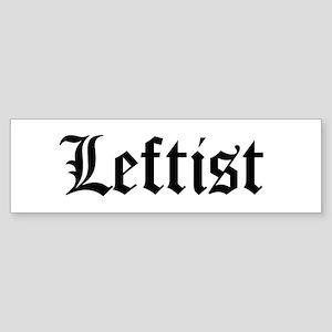 Leftist Bumper Sticker