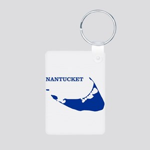 Nantucket Island - Blue Keychains