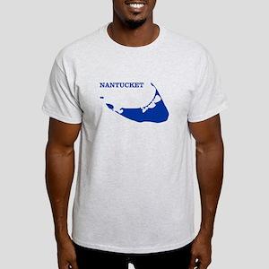 Nantucket Island - Blue T-Shirt