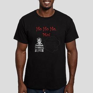 Ho Ho Ho, Mo! Men's Fitted T-Shirt (dark)