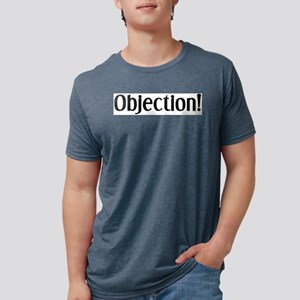 objection Mens Tri-blend T-Shirt