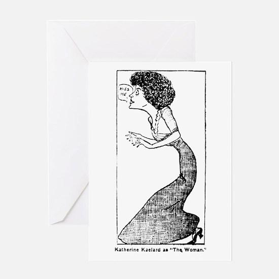 03/25/1909 - Katherine Kaelard Greeting Card