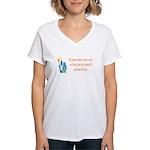 Move to Florida Women's V-Neck T-Shirt