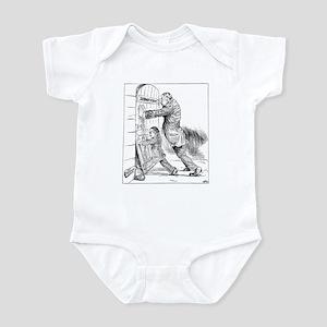 03/25/1909 - Subway Cartoon Infant Bodysuit