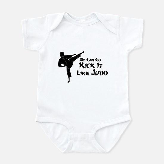 We Can Go Kick It Like Judo Infant Bodysuit