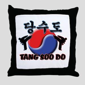 Tang Soo Do Throw Pillow