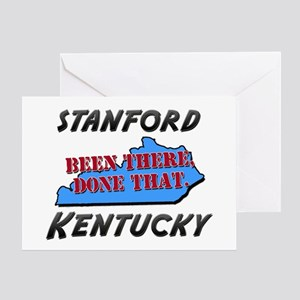 stanford kentucky - been there, done that Greeting