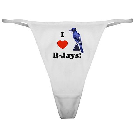 I Heart B-Jays! Classic Thong