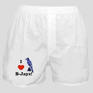 I Heart B-Jays! Boxer Shorts