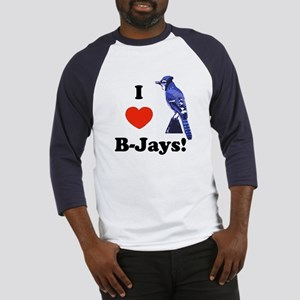 I Heart B-Jays! Baseball Jersey