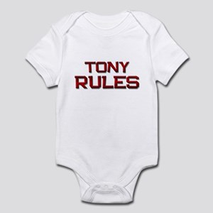tony rules Infant Bodysuit