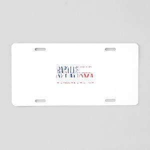 Bartlesville Oklahoma Aluminum License Plate