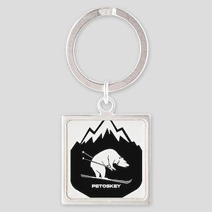 Petoskey Winter Sports Park - Petoskey Keychains