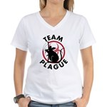 Team Plague Women's V-Neck T-Shirt