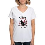 Team Plague Women's V-Neck T-Shirt