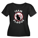 Team Plague Women's Plus Size Scoop Neck Dark T-Sh