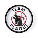 Team Plague Wall Clock
