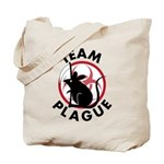 Black Death Tote Bag