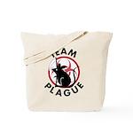 Black Death Tote Bag
