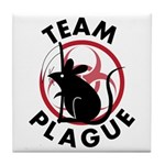 Team Plague Tile Coaster