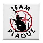 Team Plague Tile Coaster