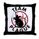 Team Plague Throw Pillow