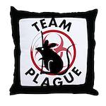 Team Plague Throw Pillow