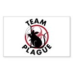 Team Plague Rectangle Sticker 50 pk)