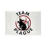Team Plague Rectangle Magnet (100 pack)